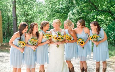 Hiwassee River Weddings Sunflower Wedding