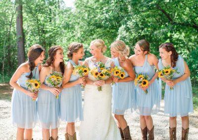 Hiwassee River Weddings Sunflower Wedding