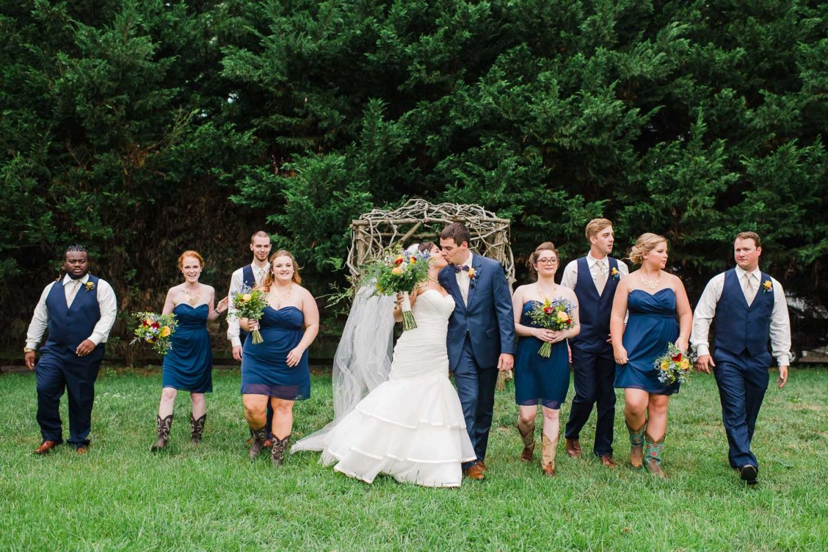 Sun Dance farm Knoxville wedding
