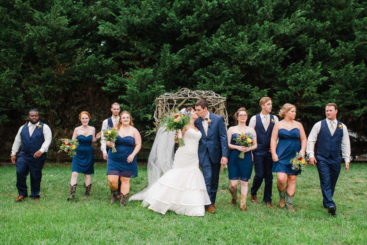 Sun Dance farm Knoxville wedding