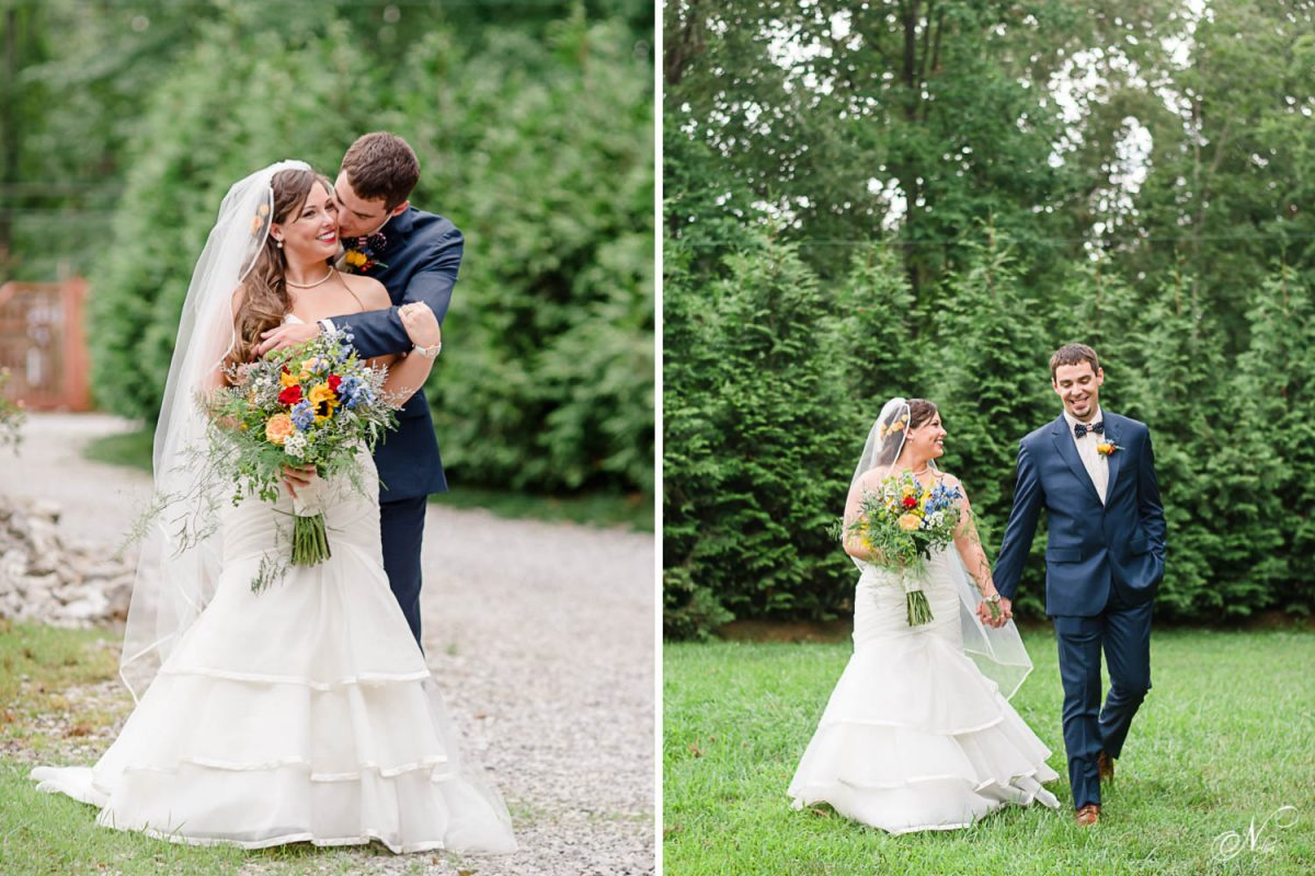 wedding photography poses with the bride and groom