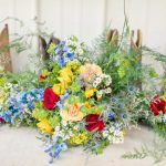 Holly & Ivan summer wedding Featured on Borrowed & Blue