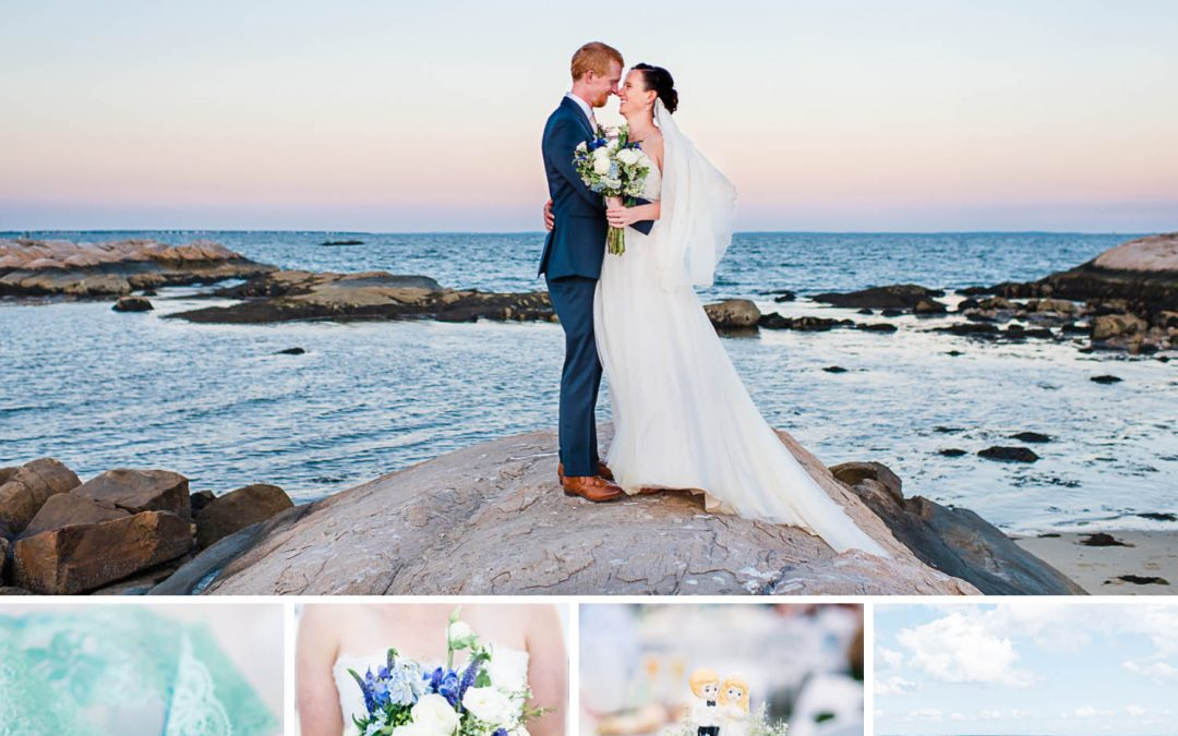 Massachusetts  Seaside Wedding | Amanda + Matt