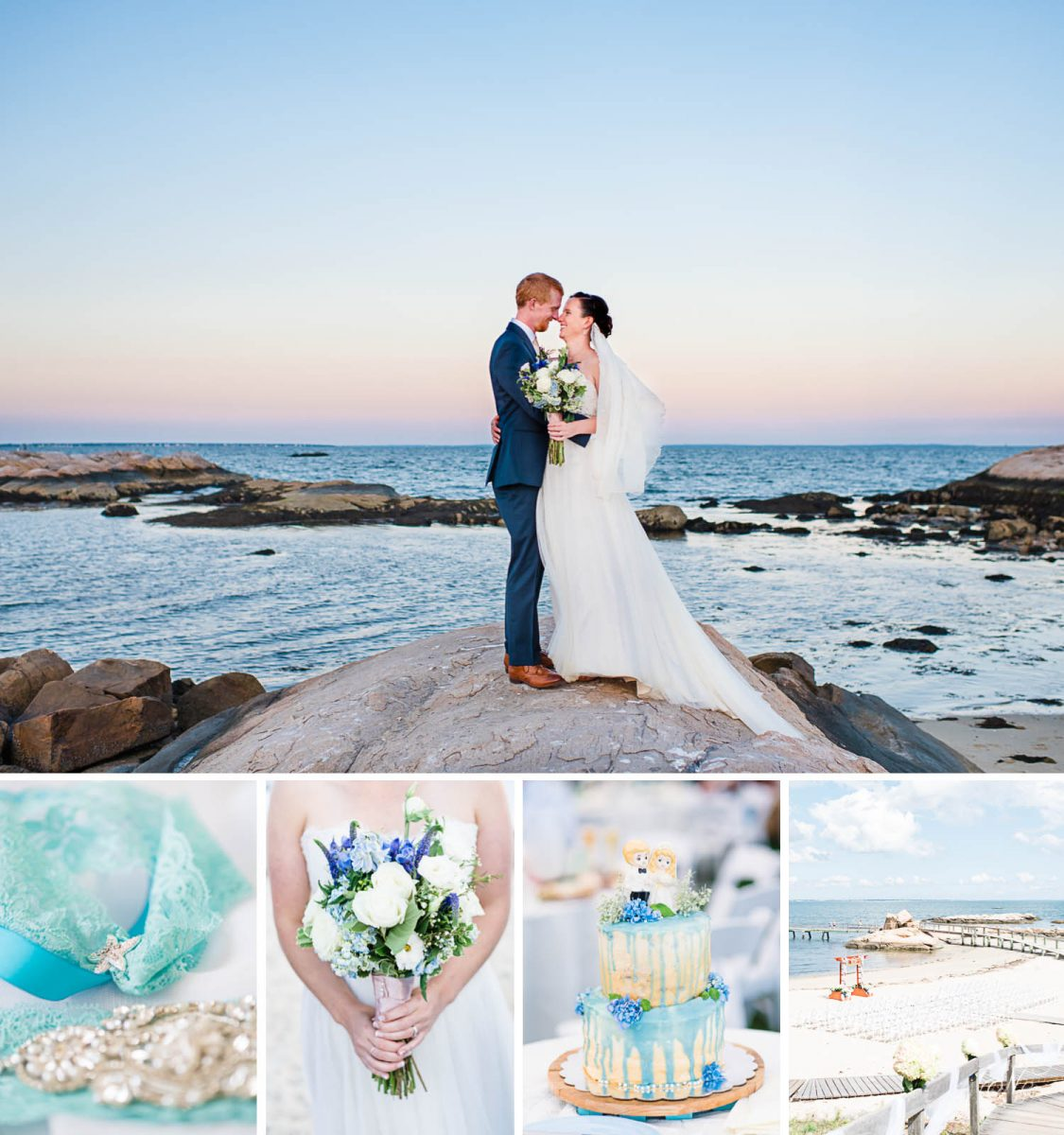 Massachusetts Seaside wedding