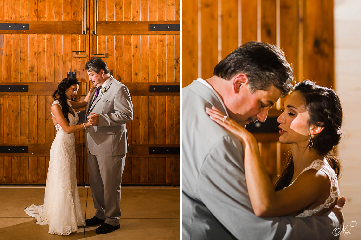 father daughter dance and dad and daughter sharing a special moment