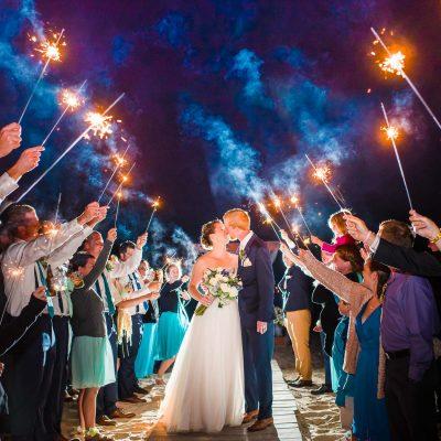 Wedding Sparklers. What kind should I get?  Tips for better wedding sparkler exit photos