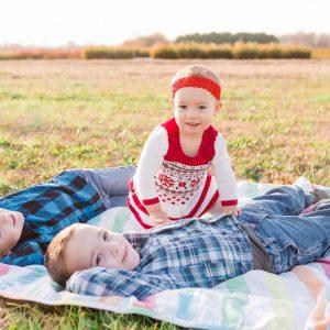 Unposed Fall family photos