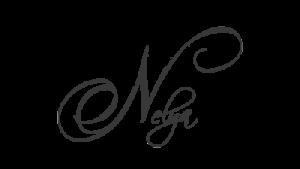 Nelya logo gray sm