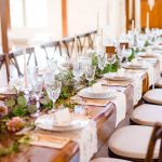 Vintage Elegance with Gold Accents | Styled Reception