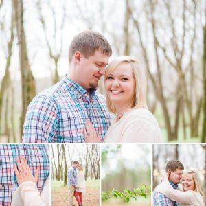 Pastel Spring Engagement at Hiwassee River Weddings