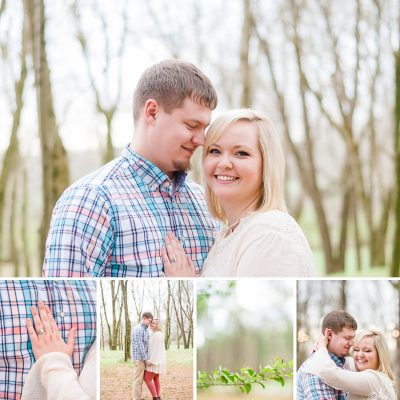 Pastel Spring Engagement at Hiwassee River Weddings