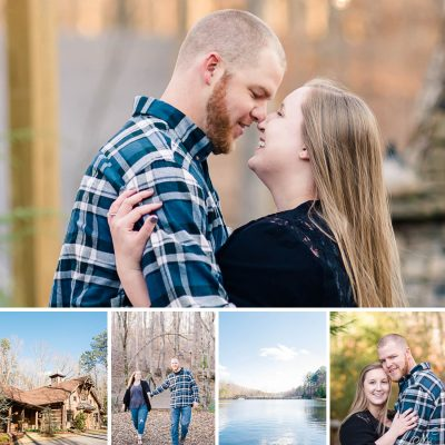 Winter Engagement Dallas GA | Brandee + Kevin