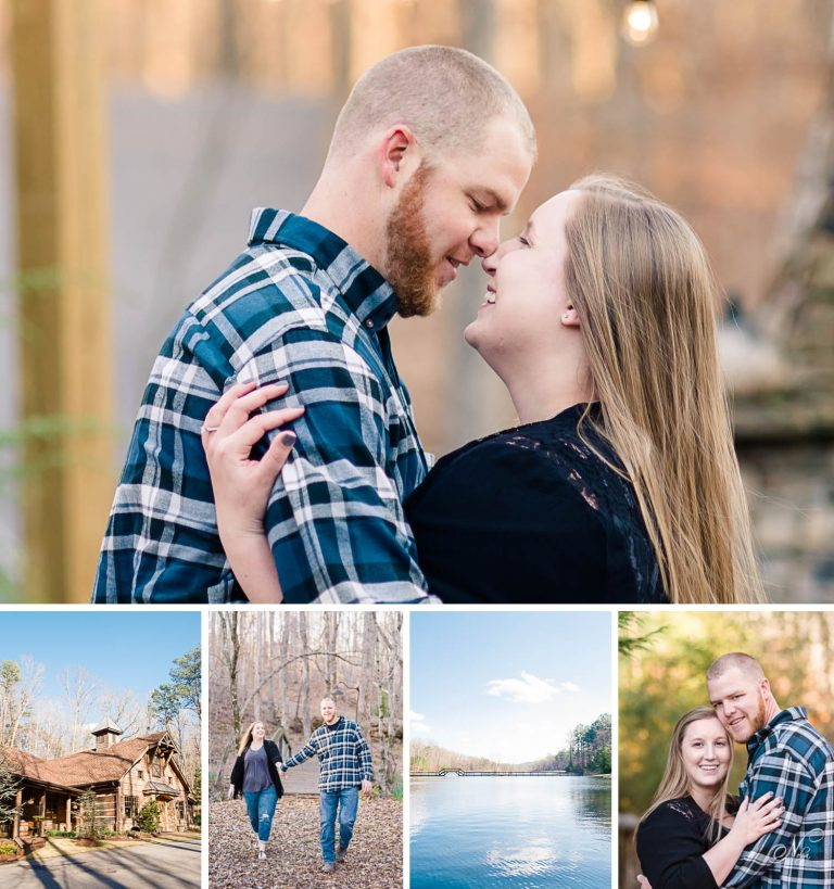 Winter Engagement Dallas GA
