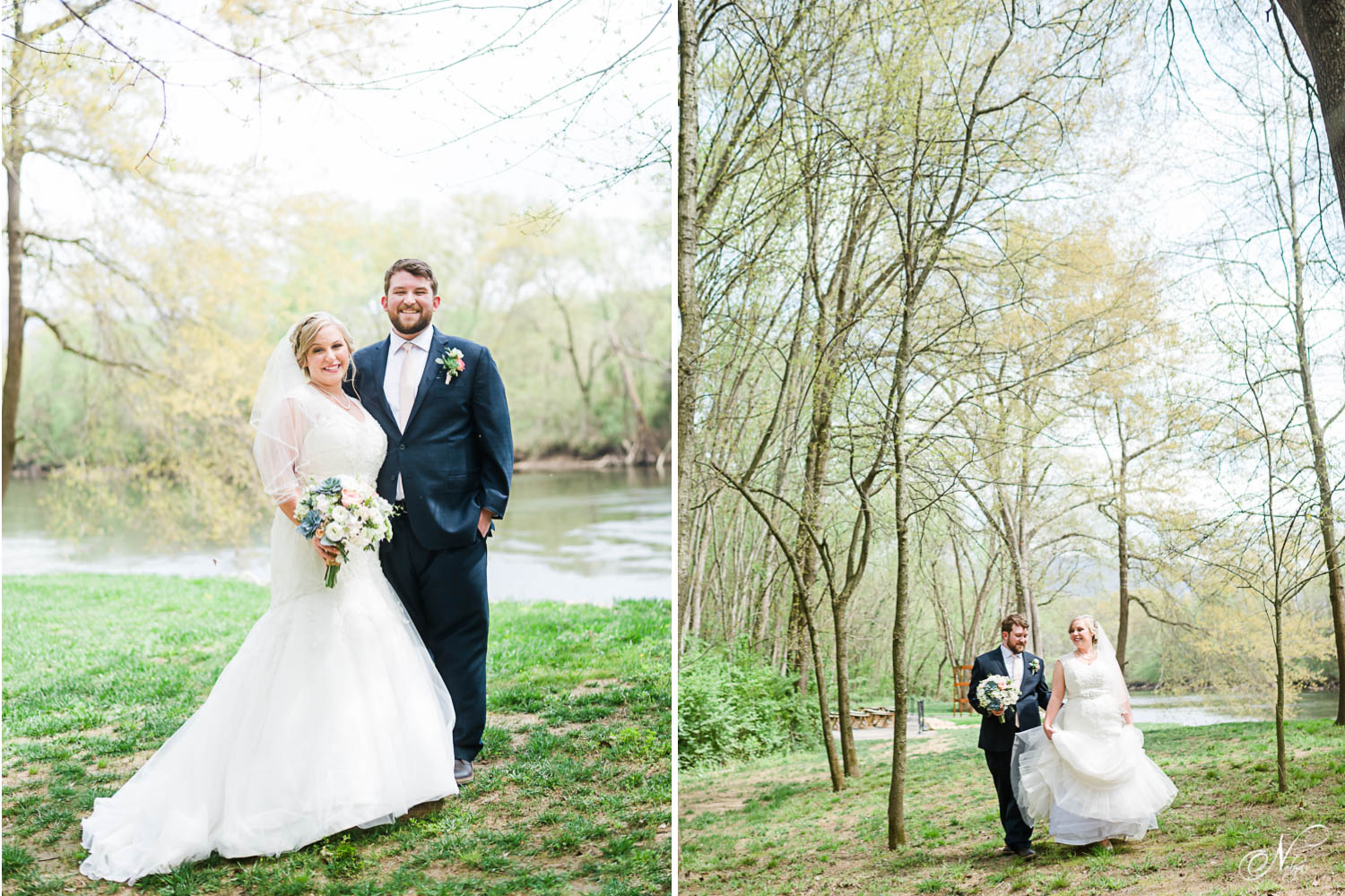 Spring Tennessee wedding