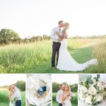 A summer wedding at The Barn at Drewia Hill in Sale Creek TN | Marcai and Rob