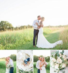 A summer wedding at The Barn at Drewia Hill in Sale Creek TN