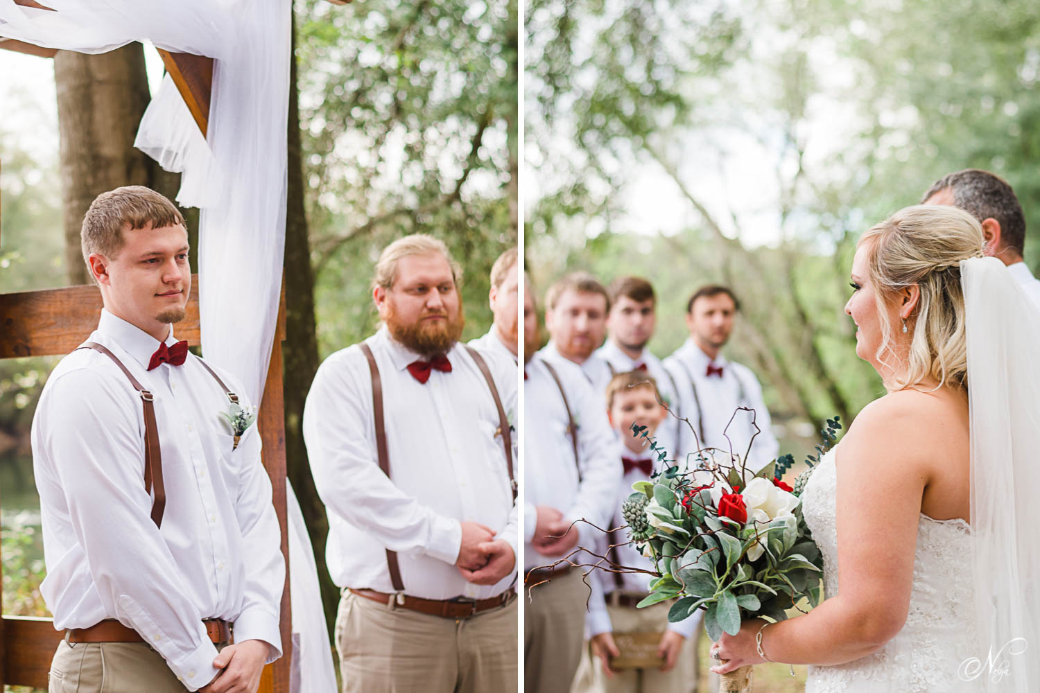 river side Tennessee Wedding ceremony