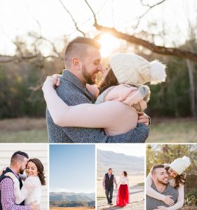 Tennessee Mountain Winter Engagement | Megan + Jake
