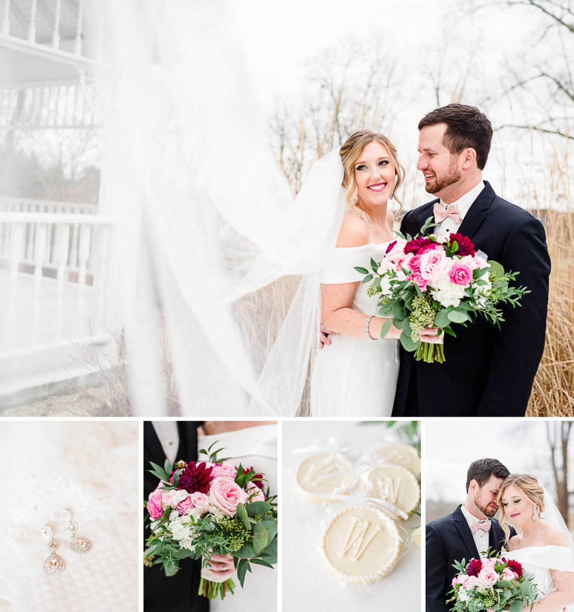 Whitestone inn winter wedding
