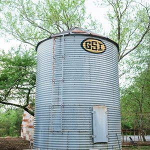 older grain silo