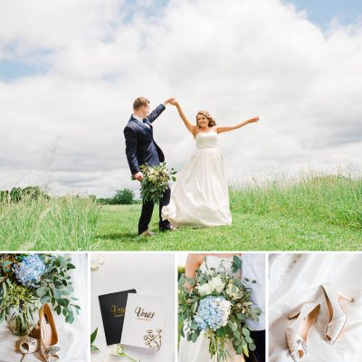 Peacock Green Wedding | Chloe + Cody
