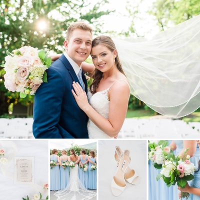 Ice Blue Wedding | Kaitlyn + Peyton