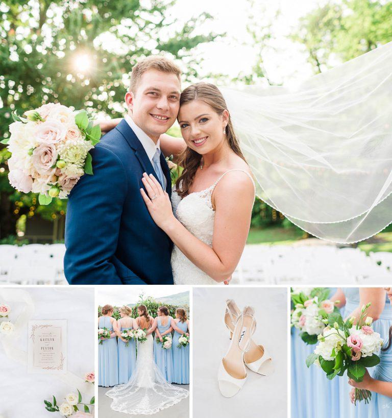 Ice Blue Wedding | Kaitlyn + Peyton