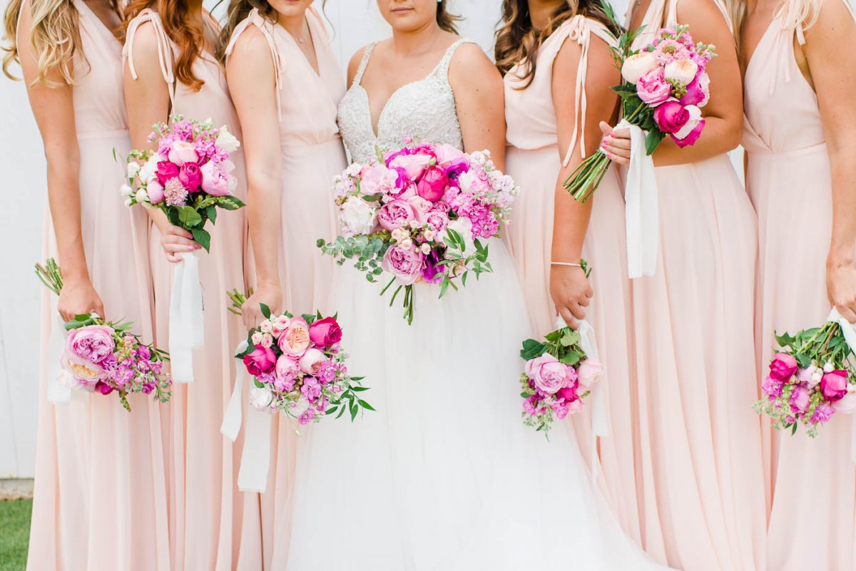 pink Wedding Bouquet Inspiration