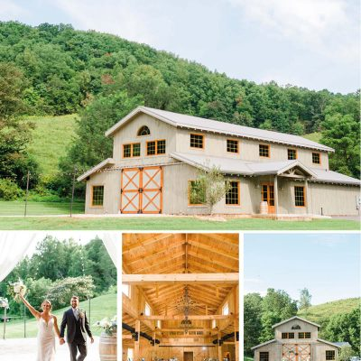 4 points farm Sevierville TN wedding venue