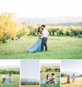 Smoky Mountain Summer Engagement