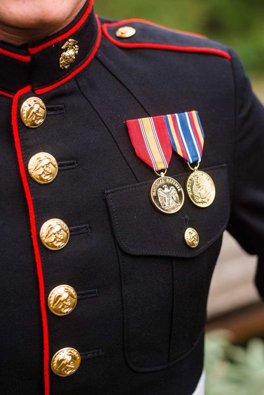 details on marines uniform