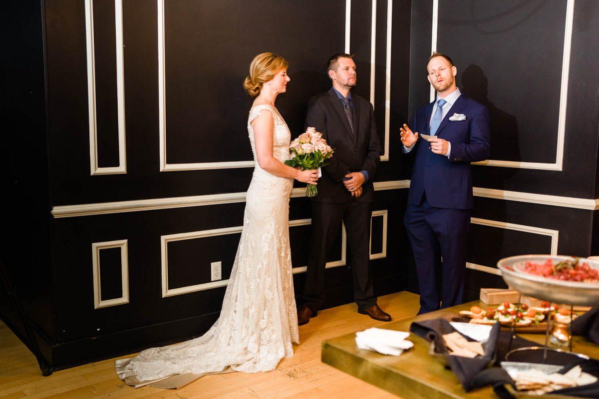 the surprise wedding ceremony