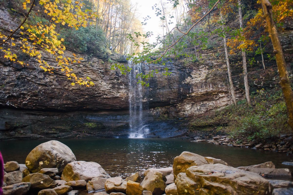 cloudland canyon waterfalls