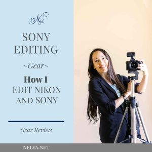Sony Editing How I edit raw files | Gear Review