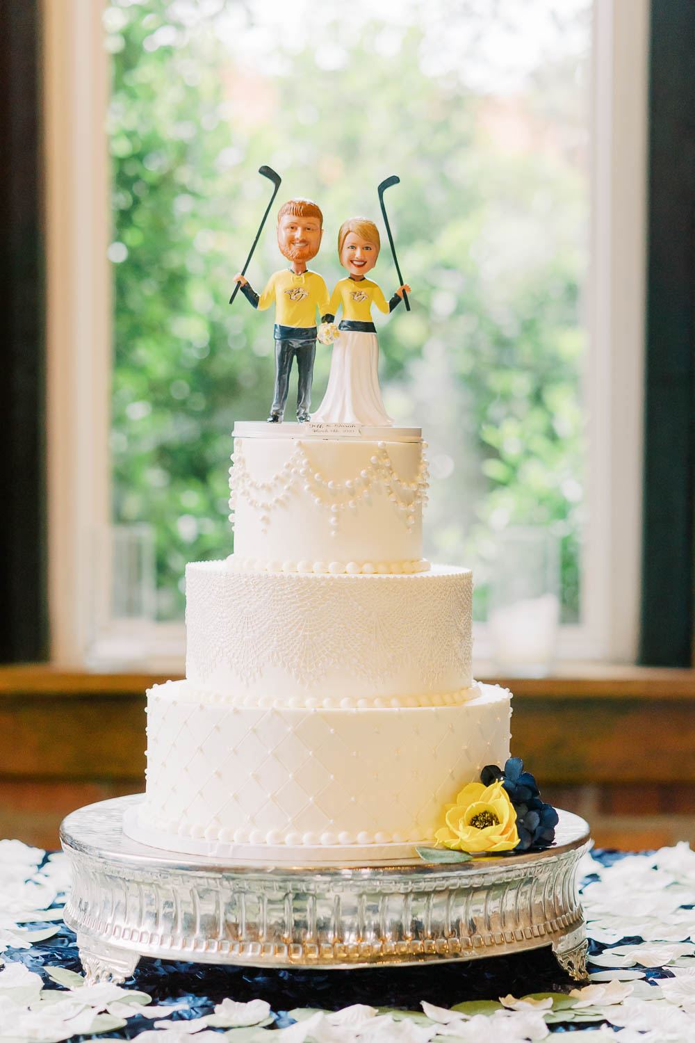 hockey cake topper