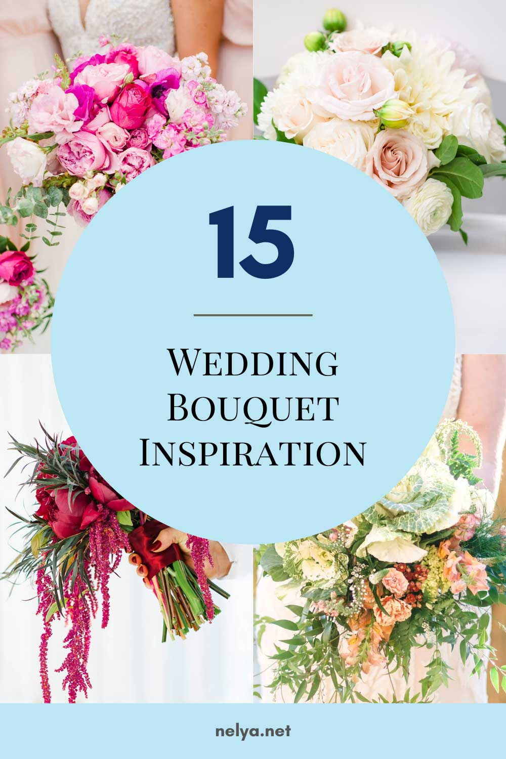 15 wedding bouquets for inspiration