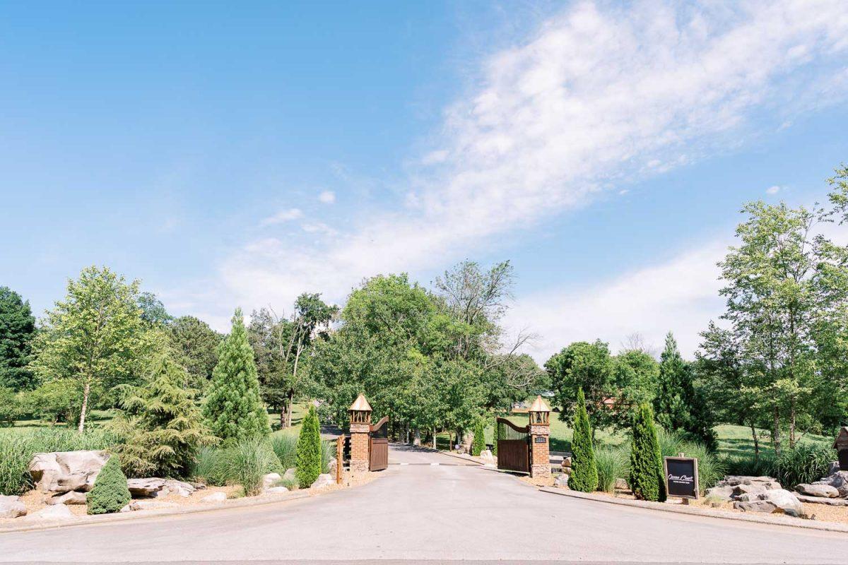 The gate at Ocoee crest