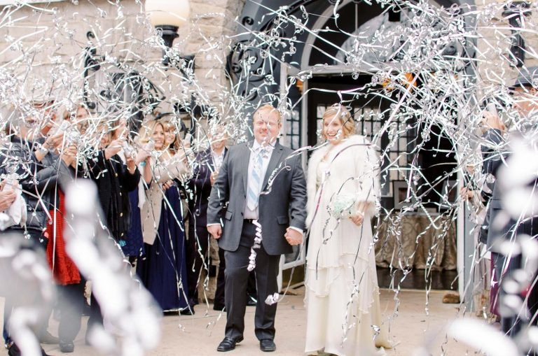 Fun wedding exit alternatives to sparklers